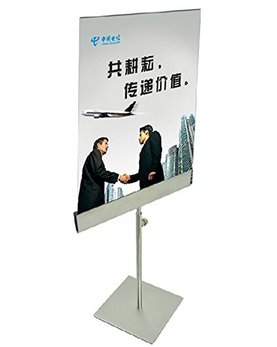 Stainless Steel Table Poster Stand Banner Billboard Display Stand Tabletop Display