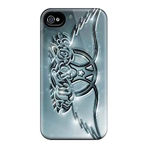 Iphone 4/4s XbW11324mmCU Provide Private Custom High-definition Aerosmith Band Image Shock-Absorbing Cell-phone Hard Cover -CharlesPoirier