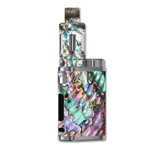 Skin Decal Vinyl Wrap for eLeaf iStick Pico 75W Vape Mod Skins Stickers Cover / Abalone Pink Green Purple Sea Shell