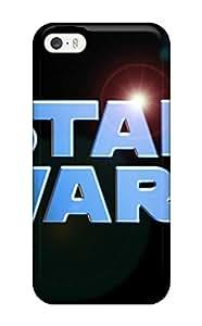Iphone 5/5s Star Wars Logo Print High Quality Tpu Gel Frame Case Cover