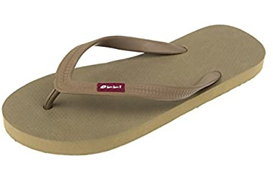 1eb8e2529701 OLLI Flip Flops for Women - Fair Trade Natural Rubber - Eco Friendly    Vegan  Buy Online at Low Prices in India - Amazon.in