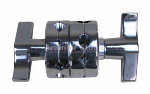 Ardinbir Studio All Metal Light Stand Pipe tube Double Dual Grip Head Doulbe Clamp by Ardinbir Studio