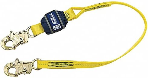 Cordón Dbi-sala de 3 m, 1 pata, poliéster, amarillo 1246225 – 1 ...