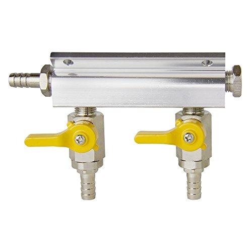 (Kegco 2-Way Kegerator Beer Gas/Air Distributor)