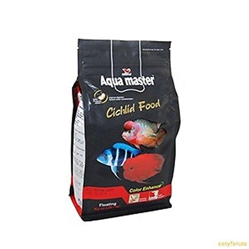 AQUA MASTER CICHLID FOOD, MEDIUM 1KG (Aqua Master)