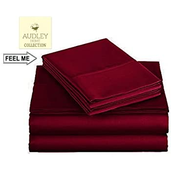 Amazon Com Audley Home 600 Thread Count Luxurious Bedding
