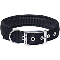 "Prestige Pet Products Soft Padded Collar, 1"" X 20"" (51Cm), Black"