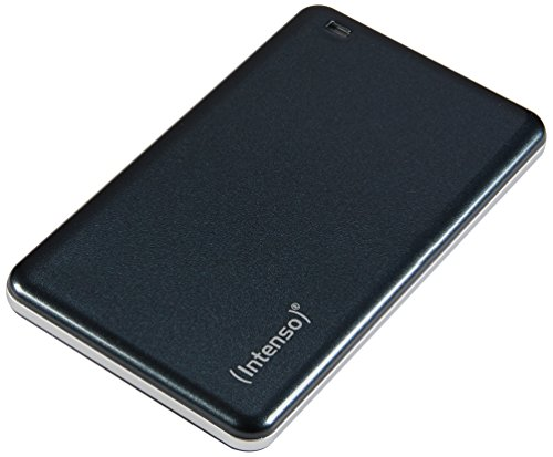 Intenso 3822440 256GB USB 3.0 Portable Tragbare Externe SSD ( Solid State Drive) Festplatte anthrazit