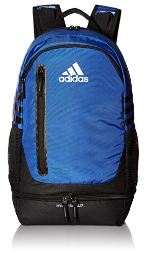 adidas Pivot Team Backpack, Bold Blue/Black/Neo White, One Size