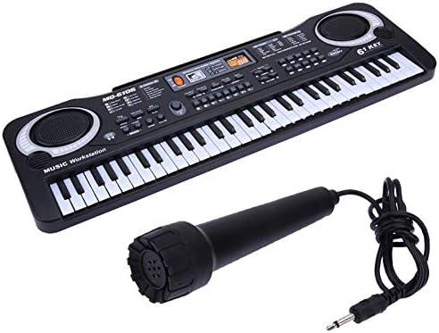 SHMDSQ 61 Teclas Música Digital Teclado electrónico Teclado ...