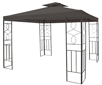 Beliebt Amazon.de: Metall Garten Pavillon 3x3 MZ18