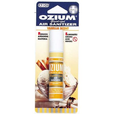 Ozium Glycol-Ized Professional Air Sanitizer / Freshener Vanilla Scent, 0.8 oz. 6 PACK (OZ-23) (Glycolized Air Sanitizer)