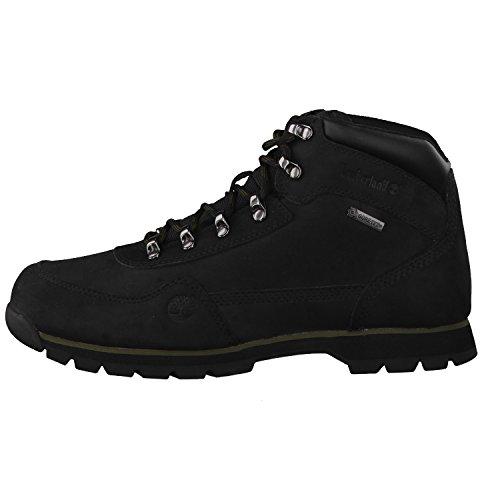 Timberland Euro Hiker With Gore Tex Membrane - Botas de cuero hombre Schwarz (Black)