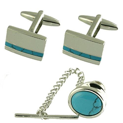 Gift Set Matching Cufflinks Bl