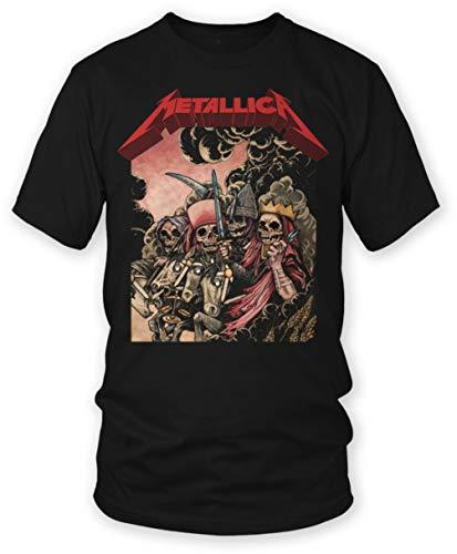 Metallica - The Four Horsemen - Adult T-Shirt - Small Black