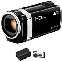 JVC GZ-HM650 GZ-HM650BUSM HD Everio Camcorder Bundle 3