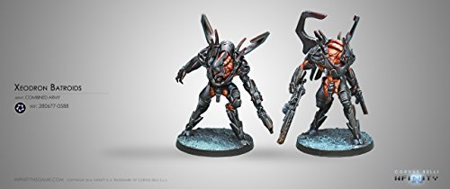 by Corvus Belli Corvus Belli Miniatures 280677-0588 Xeodron Batroids