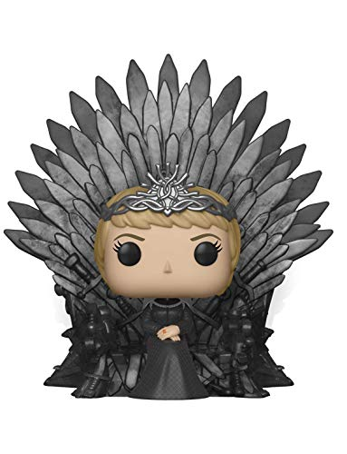 Funko- Pop Deluxe Game of S10 Cersei Lannister Sitting on Iron Throne Figura Coleccionable, Multicolor (37796)