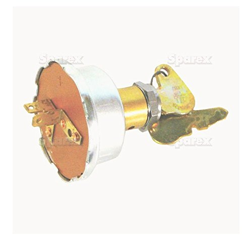 Sparex, S.60119 Switch, Ignition, 504809m91 For Massey Ferguson 100 Series 1000 Series 200 Series 300 Series 3100 Series Combine Series Industrial Series 135, 150, 165, 175, 1801080, 1085, 1105, 1135