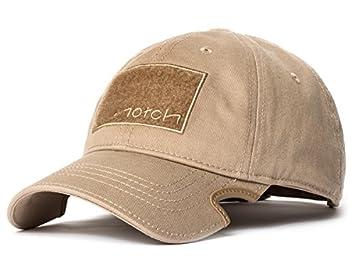 5e6437f6a6bb7 Notch Classic Tan Operator Cap  Amazon.co.uk  Sports   Outdoors