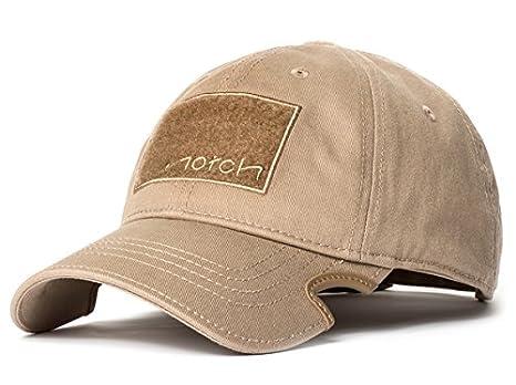 Amazon.com  Notch Classic Adjustable Tan Operator Cap  Clothing da2e53b5533