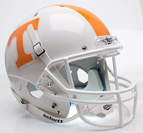 (Schutt NCAA Tennessee Volunteers Replica XP Football Helmet, Checker Alt. 1)