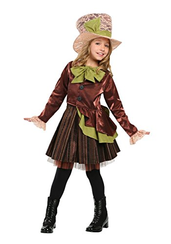 Girls Mad Haddie Costume Large