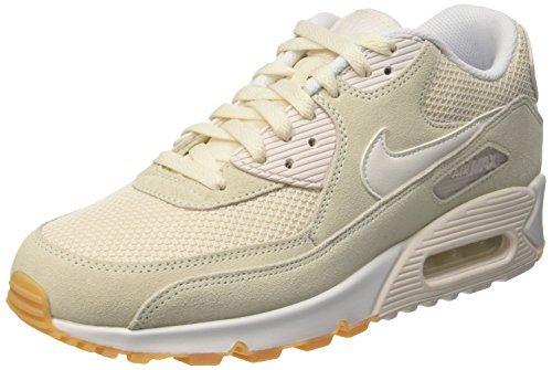 more photos c086f 16763 Nike Men s Air Max 90 Essential Phantom Phantom-White-GM Yellow  Buy Online  at Low Prices in India - Amazon.in