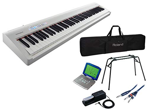 Roland Digital Piano FP-30 ホワイト [FP-30-WH] Super Complete Set   B01N0NOTT8