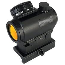 Bushnell AR Optics TRS-25 HiRise 1x 25mm Riflescope with Riser Block, 3 MOA Red Dot Reticle
