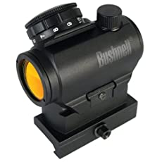 Bushnell Optics TRS-25 HiRise Red Dot Riflescope with Riser Block, 1x25mm