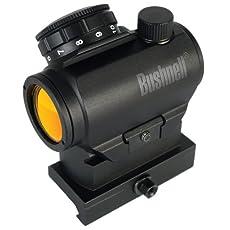 Bushnell AR Optics TRS-25 Hirise 1x 25mm Red Dot Riflescope with Riser Block, Matte Black