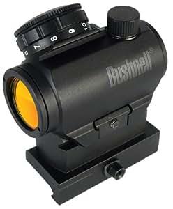 Bushnell Optics TRS-25 Hirise 1x 25mm Red Dot Riflescope with Riser Block, Matte Black