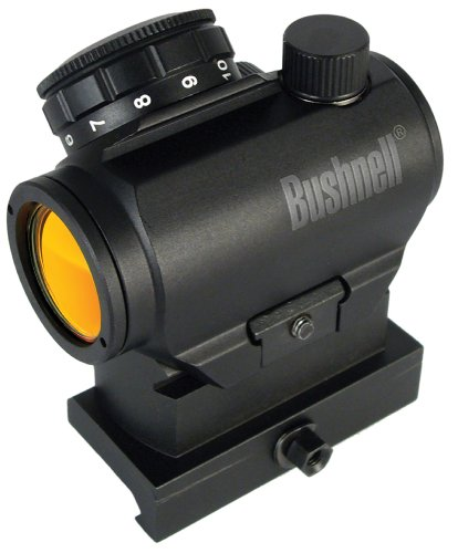 Bushnell Optics TRS-25 Hirise 1x25mm Red Dot Riflescope with Riser Block, Matte Black ()
