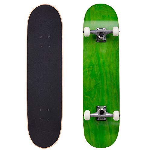 Cal 7 Complete Skateboard, Popsicle Double Kicktail Maple Deck, Skate Styles in Graphic Designs (8