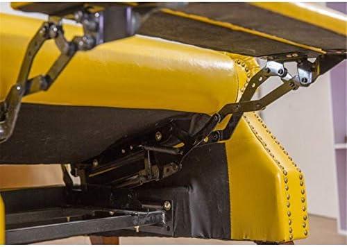 guohailang Fauteuil Fauteuil Lounge for Salon Chambre Bureau pour Salon Chambre (Color : Yellow, Size : Medium)