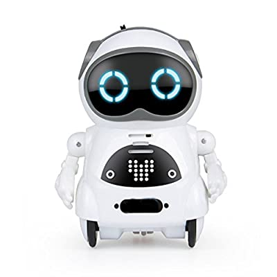 WomToy Remote Robot for Kids, Pocket RC Robot Toy Voice Recording Dancing Singing with The Interactive Control