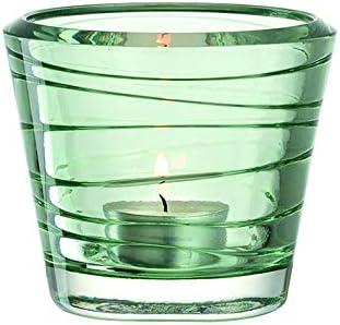Leonardo Vario Glas grau Kerzenst/änder