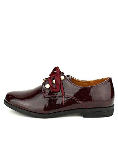 Bordeaux Derbies Bordeaux Femme CINKS Looks Cendriyon Chaussures Vernies q70BxWqnw