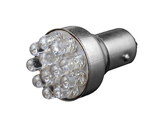 Car Bulb Light 12V LED White HeadLamp Xenon Bulbs Fog/Day Light Brake Stop Tail Light Reverse Lamp Fit For S25 12 LED 1157