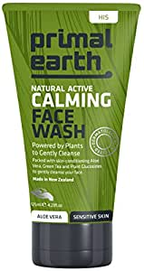 Primal Earth Natural Active Calming Face Wash For Sensitive Skin, 125ml