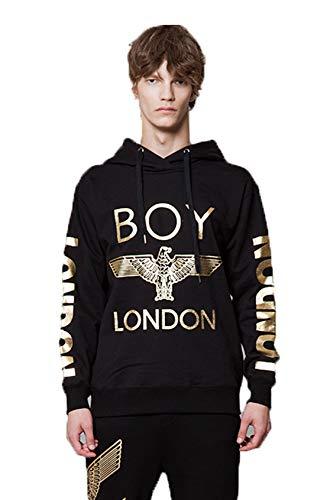 BOY LONDON '''London Printed on Sleeves Hoodie -BG3HD028 Black, X-Large by BOY LONDON (Image #6)
