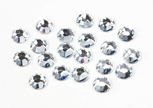 Jewelry Designer 0605-01 Rhinestone Round Crystal 10MM 20PC, Multicolor