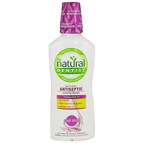 NATURAL DENTIST RINSE,ANTISEPTIC,COOL MNT, 16.9 FZ by Natural Dentist by Natural Dentist (Image #1)