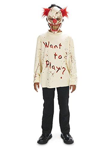 Carn-Evil Playful Clown Child Costume X-Large]()