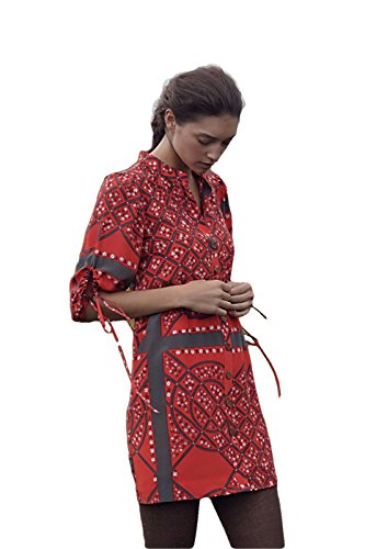 Anthropologie Moulinette Soeurs Maeshowe Shirtdress Dress Sz 6 P