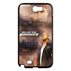 Customized Hard Back Case Cover for Samsung Galaxy Note 2 N7100 with Unique Design Fast and Furious WANGJING JINDA