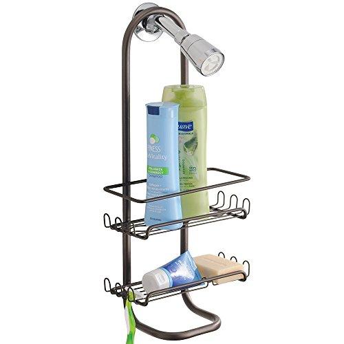 mDesign Classic Bathroom Shampoo Conditioner