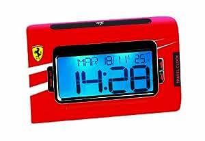 Lexibook - Despertador MP3 con diseño de Ferrari (RLR920FE)