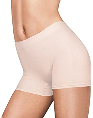 womens Pure Genius Seamless Boyshort (40848) Latte Lift